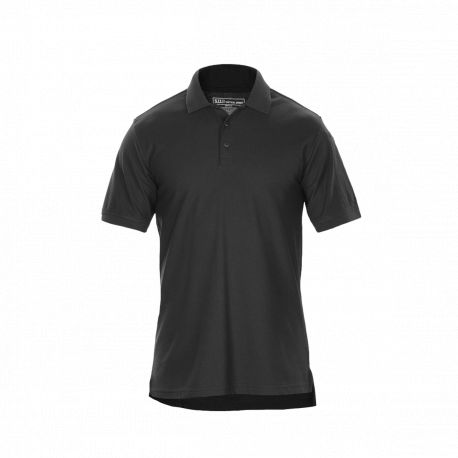 Polo Utility Polyester Noir - 5.11 Tactical