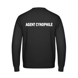 Sweat AGENT CYNOPHILE noir - Vetsecurite