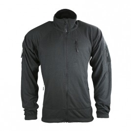Blouson polaire DELTA TACTICAL Noir - Kombat Tactical