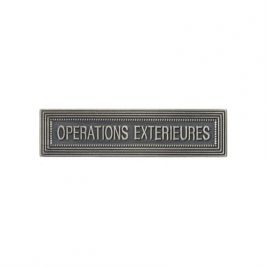 Agrafe ordonnance OPERATIONS EXTERIEURES