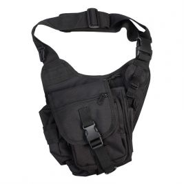 Sacoche Tactical Soulder 7L Noir - Kombat Tactical
