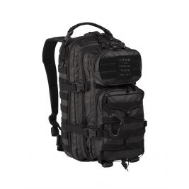 Sac à dos US ASS. PACK Tactical Black 20L Noir - Miltec