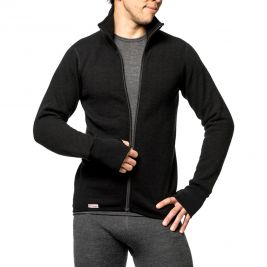 Gilet à fermeture zip Full zip jacket 400 noir - Woolpower
