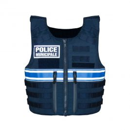 Gilet pare-balles IIIA Full Tactical Police Municipale - Le Protecteur