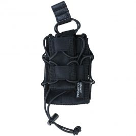 Porte chargeur simple delta noir - Kombat Tactical