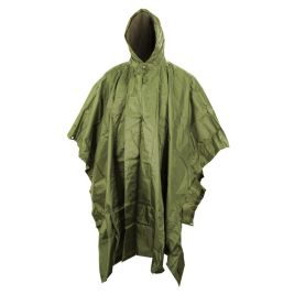 Poncho Style US Waterproof Vert- Kombat Tactical