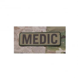 "Patch moral ""Medic"" multicam en PVC - Mil-Spec"