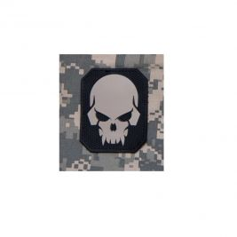 Patch moral crâne de pirate swat en PVC - Mil-Spec