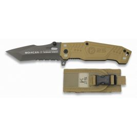 Couteau pliant MOHICAN II Coyote - K25