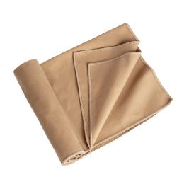 Serviette microfibre Camp 40 cm x 80 cm TAN - TOE