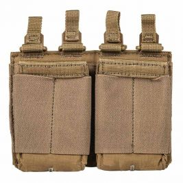 Porte chargeur Flex double AR coyote - 5.11 Tactical