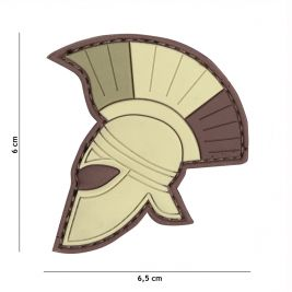 Patch 3D en PVC Casque Romain Multi - 101 Inc