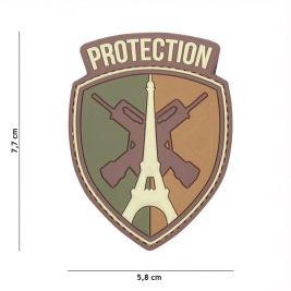 Patch 3D en PVC Protection Multi - 101 Inc
