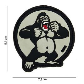Patch 3D PVC King Kong Blanc - 101 Inc