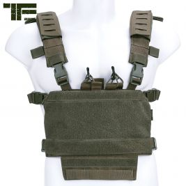 Chest Rig modulaire Vert OD - Task Force 2215