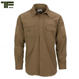 Chemise Bravo One Coyote - Task Force 2215