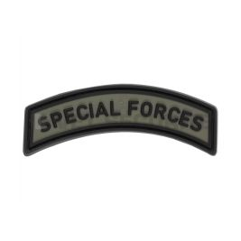 Special Forces Tab Rubber Patch - JTG