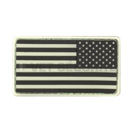 Patch US Flag Rubber Fluo - JTG