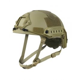 Casque Fast Helmet Coyote - Kombat Tactical