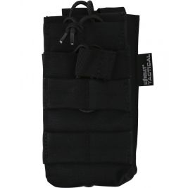 Single Duo Mag Pouch - Black