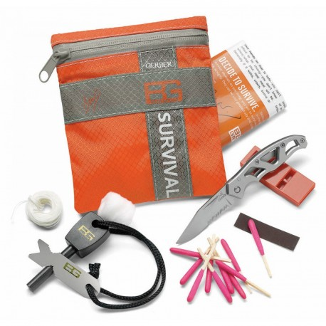 Kit de survie Basic Bear Grylls by Gerber