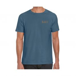Tee-shirt Forged By The Sea Bleu - 5.11 Tactical