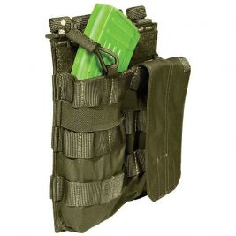 Porte chargeur double AK Vert OD - 5.11 Tactical