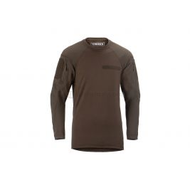 Tee shirt tactique manches longues MKII Instructor Marron - Clawgear