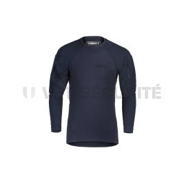 Tee shirt tactique manches longues MKII Instructor Bleu - Clawgear