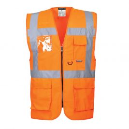 Gilet Hautre Visibilité Executive - Berlin Orange - Portwest