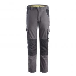 PANTALON DE TRAVAIL RICHY GRIS ET NOIR - North Ways