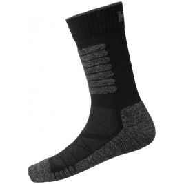 CHELSEA EVOLUTION WINTER SOCK NOIR - HELLY HANSEN