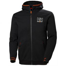 Sweat à capuche noir Kensington - Helly Hansen