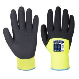 Gant enduit PU A146 Arctic Winter Jaune - Portwest