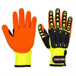 Gant Anti Impact Grip A721 Jaune/Orange - Portwest