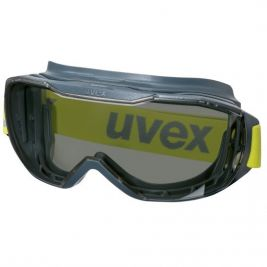 Lunettes megasonic gris 5-2,5 SV excell/athr lime - Uvex