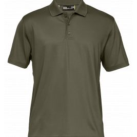 UA TACTICAL PERFORMANCE POLO HOMME VERT OLIVE - Under Armour