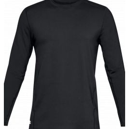 Tee-shirt Tactical Crew Base HOMME NOIR - Under Armour