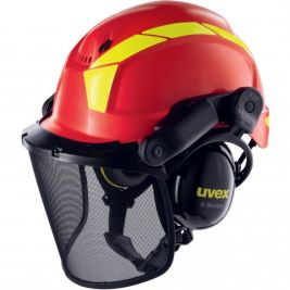 Casques uvex pheos forestier rouge - Uvex