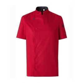 VESTE HOMME MANCHES COURTES SHADE ROUGE RUBIS - MOLINEL