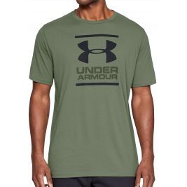 Tee-Shirt manches courtes GL Foundation Vert - Under Armour