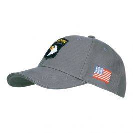 Baseball cap 101st Airborne Grey - Fostex Garments