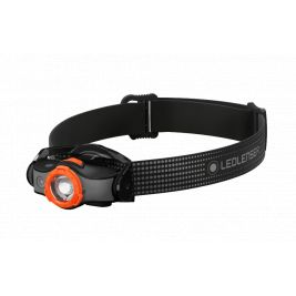 Lampe frontale MH5 Noire et Orange - Led Lenser