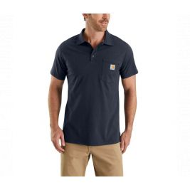 FORCE COTTON DELMONT POCKET POLO 103569 412-NVY-NAVY