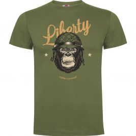 Tee-shirt Vert Liberty or Death - Army Design by Summit Outdoor