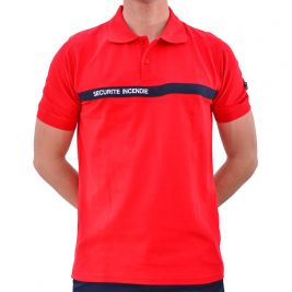 Polo rouge Craig - NW